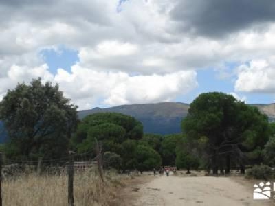 Paseo y Baño por el Valle y Río Tiétar;navacerrada la barranca la pedriza mapa cañadas reales